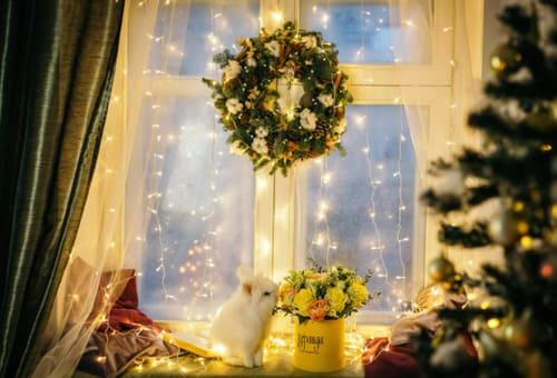 украшение квартиры своими руками к празднику