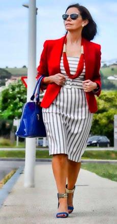 нарядная одежда для женщин после 50 лет