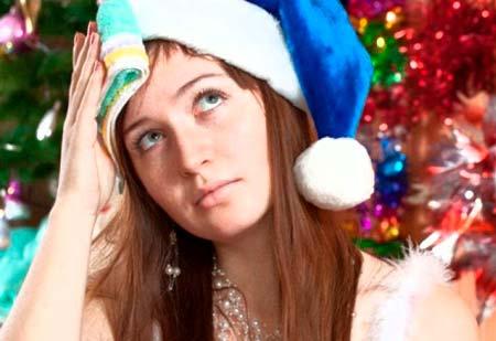 как прийти в себя после новогодних праздников и привести лицо в порядок