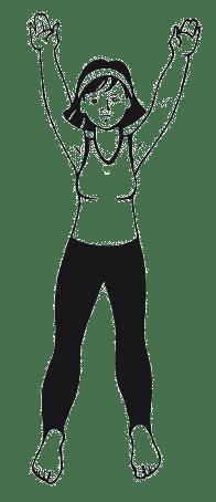 простые физические упражнения на каждый день