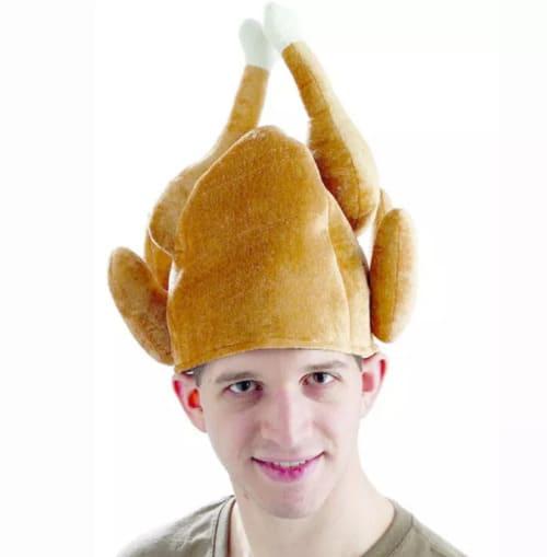 безумные вещи с алиэкспресс - шапка-индейка на день благодарения