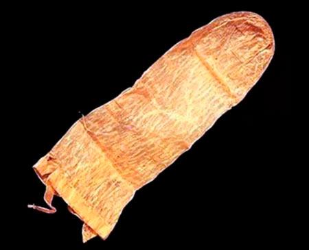 странные методы защиты от беременности - древний презерватив