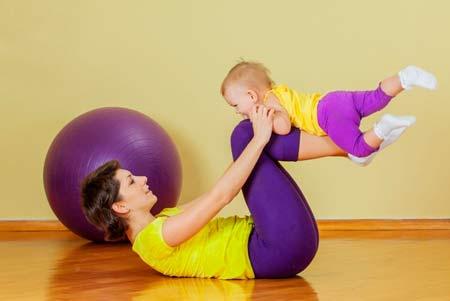 как похудеть после родов бысто в домашних условиях