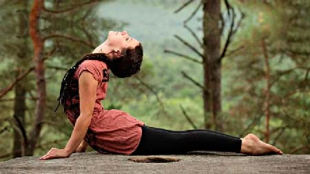 Поза кобры в йоге - вред и польза для женщин