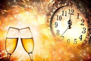 как загадать желание на новый год с шампанским и запиской