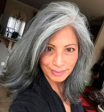 Какой цвет волос молодит женщину после 50 лет: фото до и после